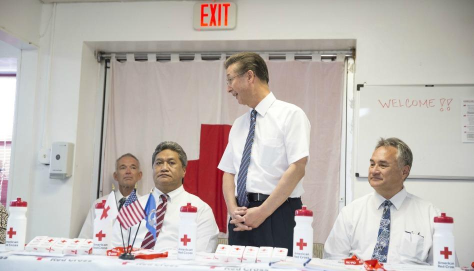 LDS Charities hizo donación total de $1 millón a la Cruz Roja Americana como ayuda ante el desastre ocasionado por el tifón Yutu