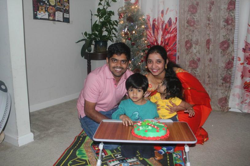 matrimonio de Prabhu y Divya