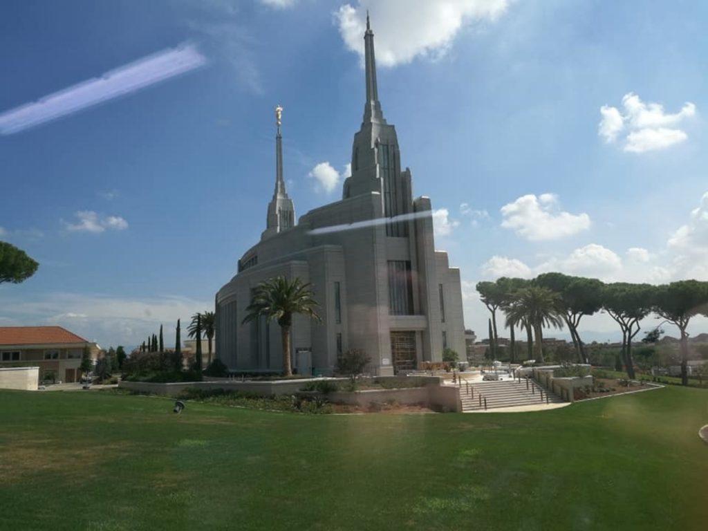 Centro de Visitantes del Templo de Roma, Italia