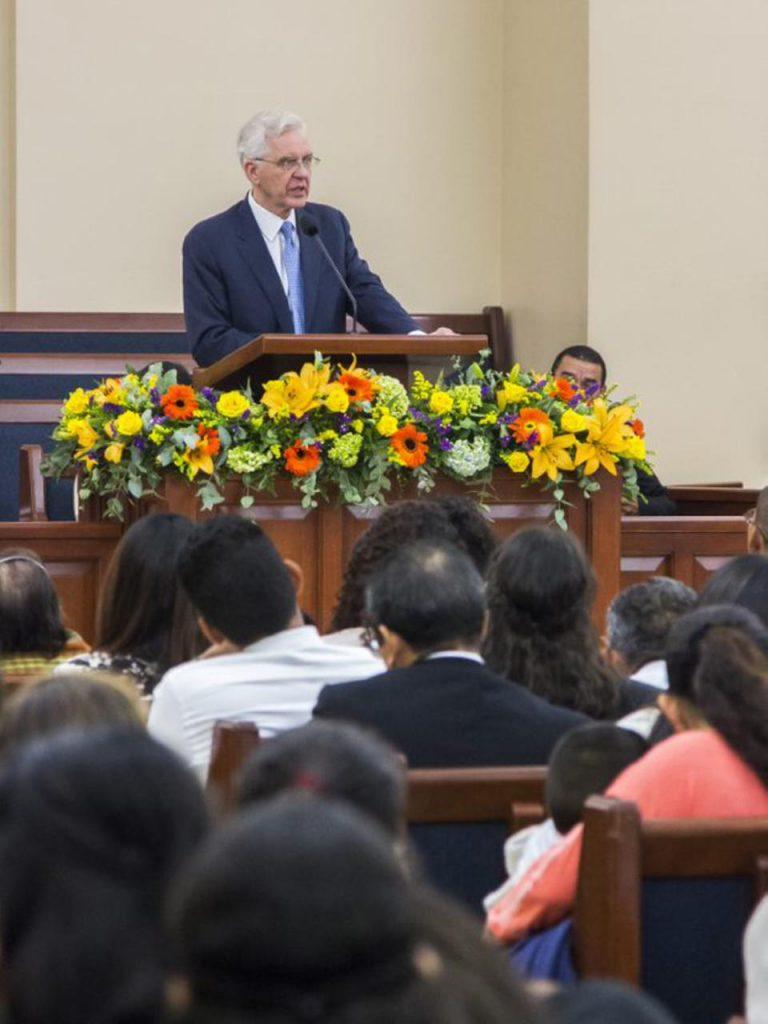 Christofferson en El Salvador