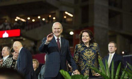 El presidente Nelson se prepara para ministrar a los Santos del Pacífico