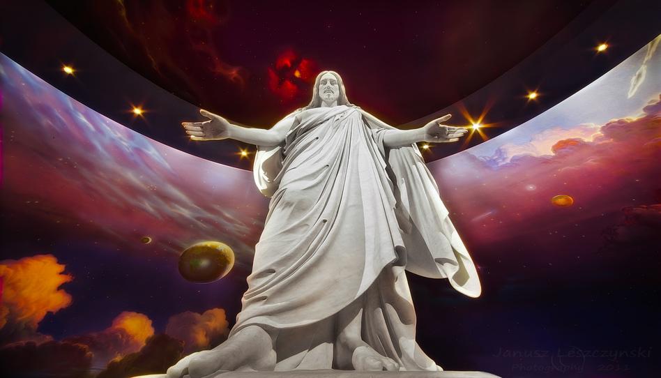estatua del Christus