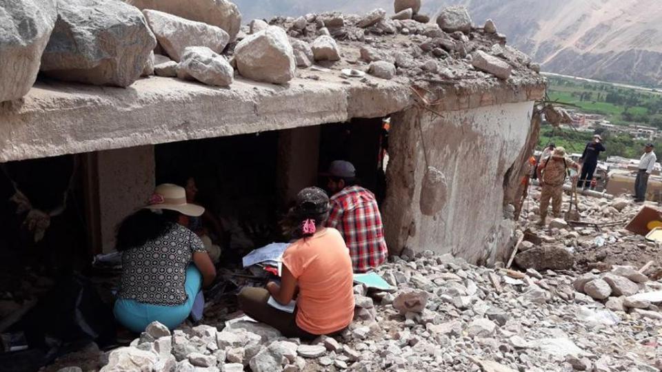 huaico en Perú víctimas