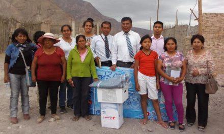 La Iglesia de Jesucristo ayuda a las víctimas de un huaico en Perú