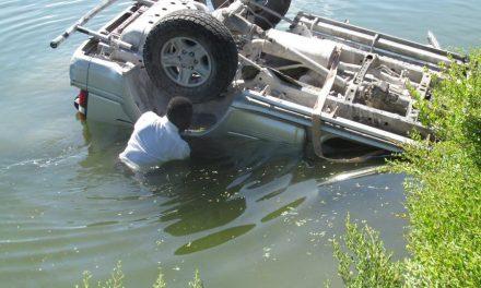 Misioneros salvan las vidas de cuatro personas en accidente automovilístico