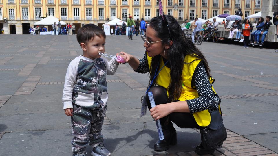 mormones en contra de violencia infantil en Colombia.
