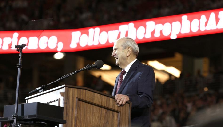 Mira: El Presidente Nelson revela lo más importante que ha aprendido en sus 94 años de vida