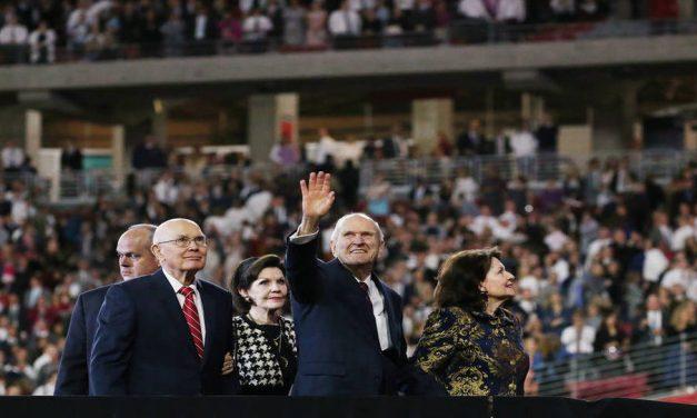 Los miembros de la Iglesia reaccionan en Instagram ante el inspirador discurso del Presidente Nelson en el Estadio State Farm