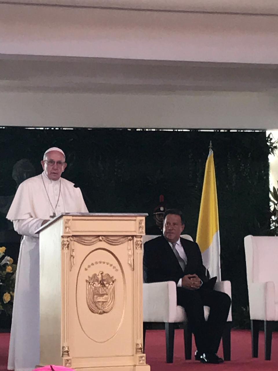 reunión con el Papa Francisco