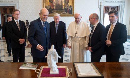 Lo que dijo el presidente Nelson en Instagram sobre su reunión con el Papa