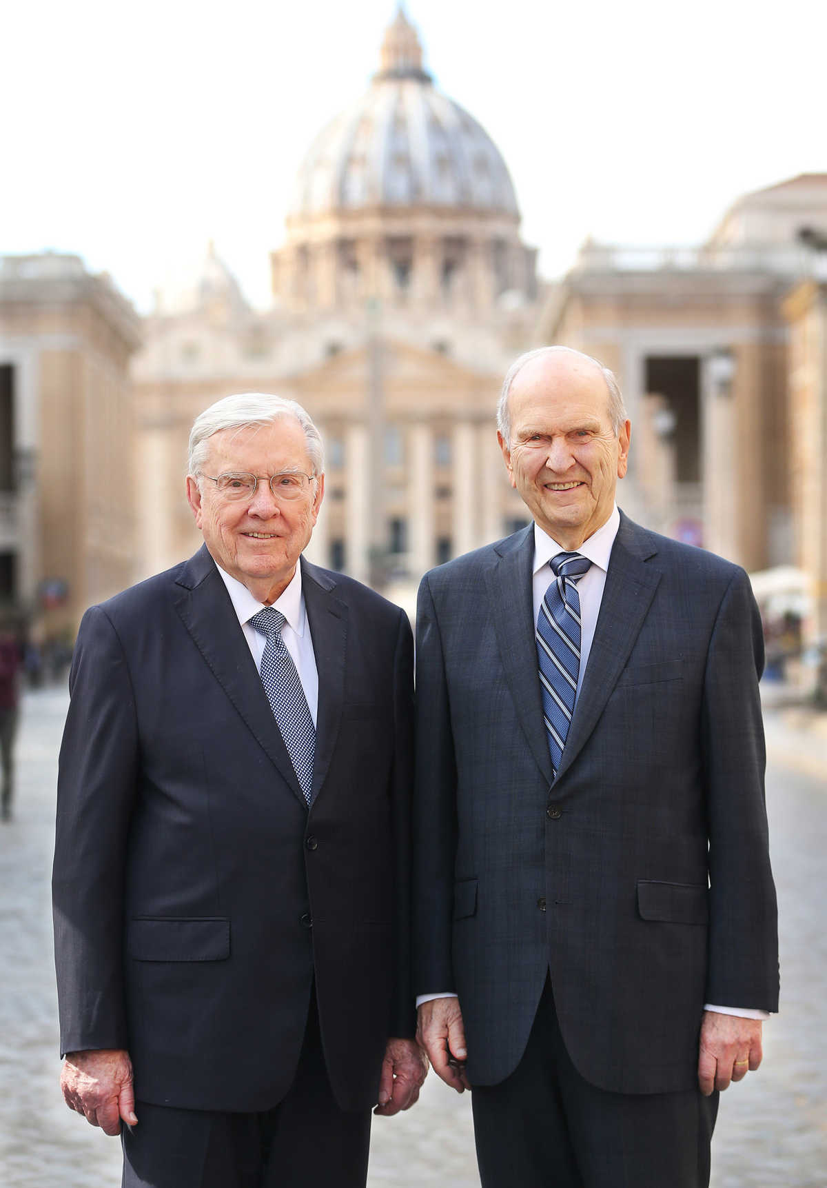 papa francisco y russell m nelson