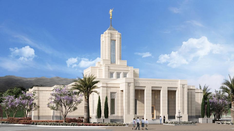 Se anuncia la Primera Palada del Templo de Quito, Ecuador