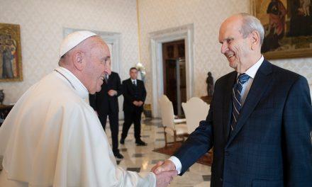 Encuentro histórico entre el Papa Francisco y el Presidente Nelson
