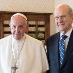 Presidente Nelson y Papa Francisco
