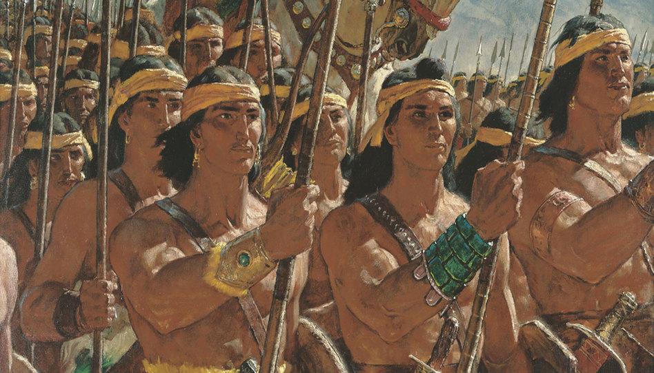 jóvenes guerreros