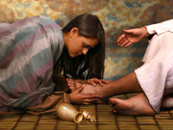 jesus y mujeres del nuevo testamento