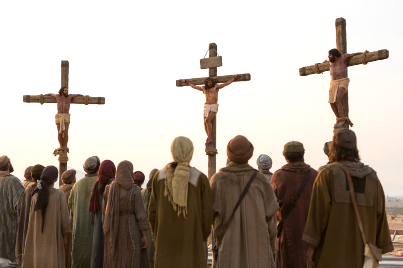 jesus crucifixión