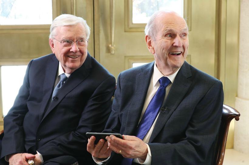 Presidente Nelson y Presidente Ballard