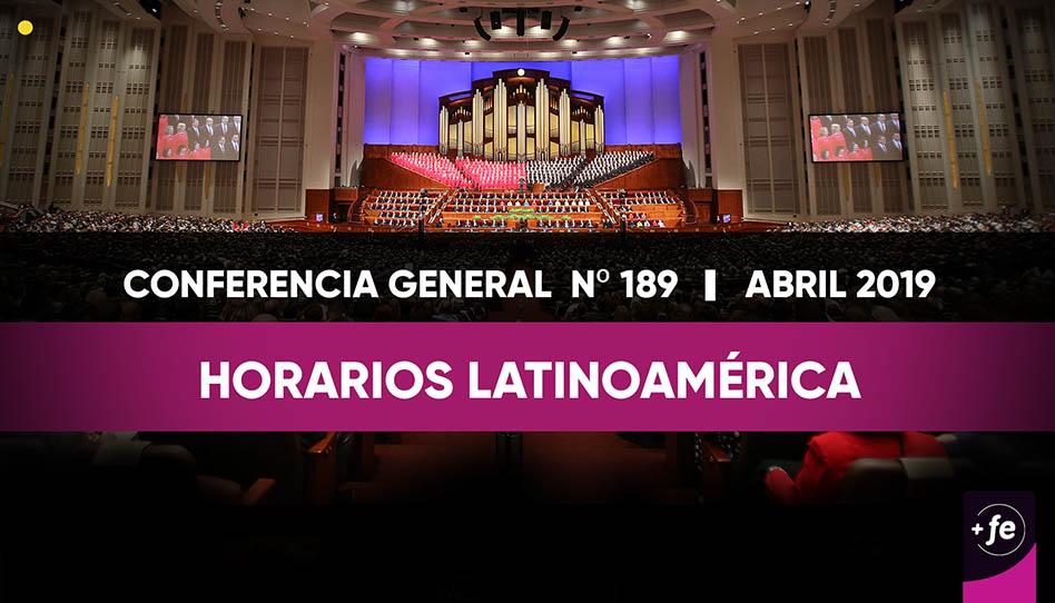 Estos son los horarios de la Conferencia General por cada país en Latinoamérica