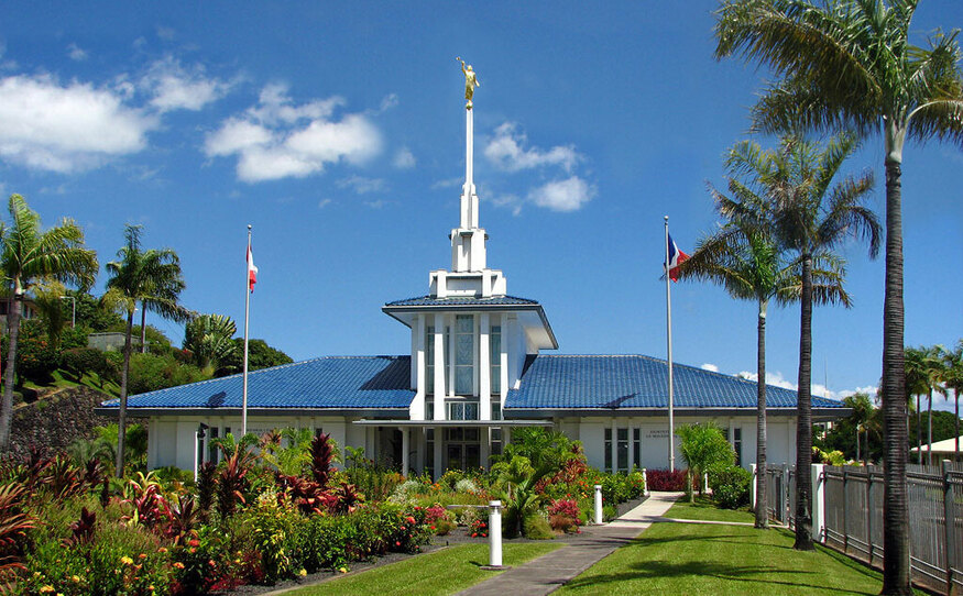 Templo de Papeete Tahiti