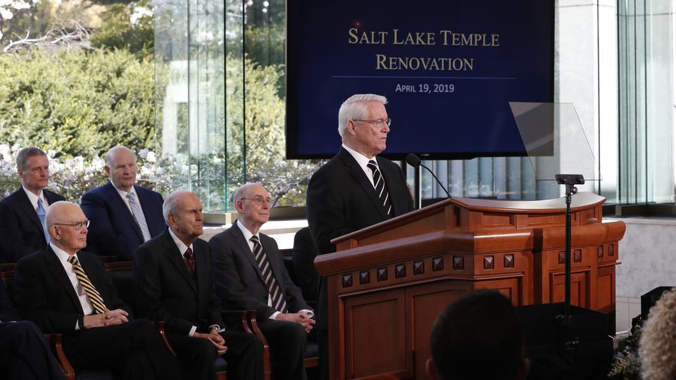 Renovación del Templo de Salt Lake