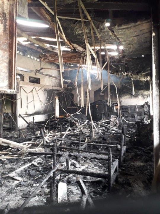 Incendio capilla mormona Colombia