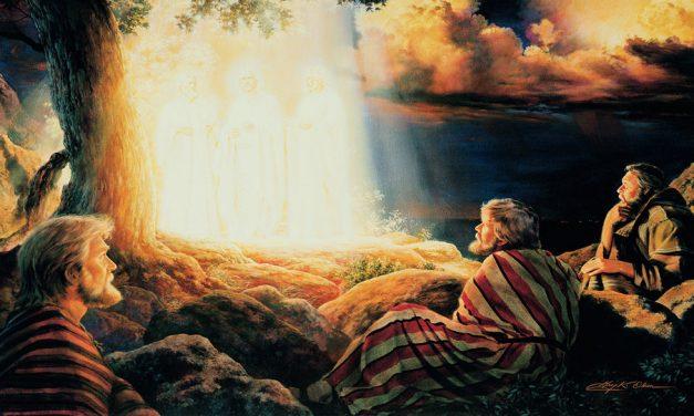 ¿La transfiguración de Jesús y los 3 nefitas fue una experiencia similar a la del templo?