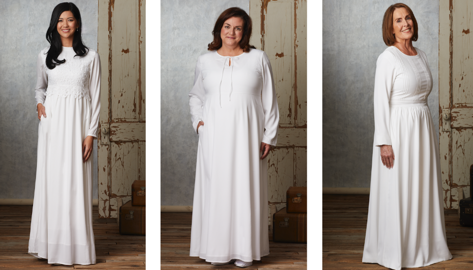 7hermosos vestidos para el templo que cualquier mujer Santo de los Últimos díasdesearíausar