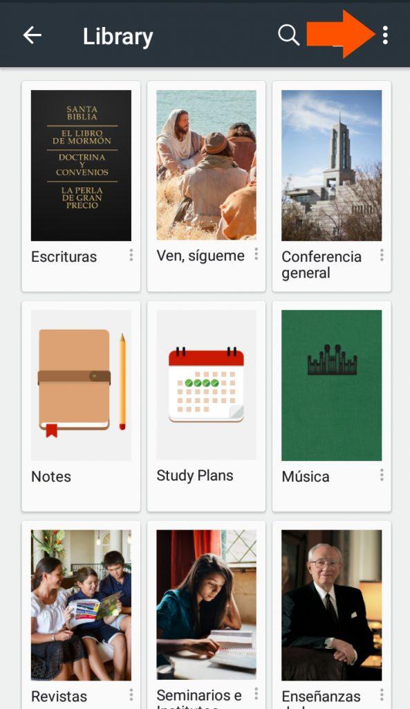 app biblioteca del evangelio