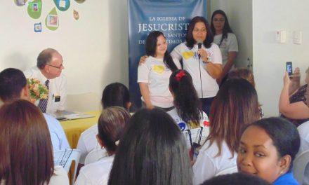 La Iglesia de Jesucristo entrega donaciones a Fundación para personas con Síndrome de Down