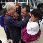 Presdente Nelson en Tonga