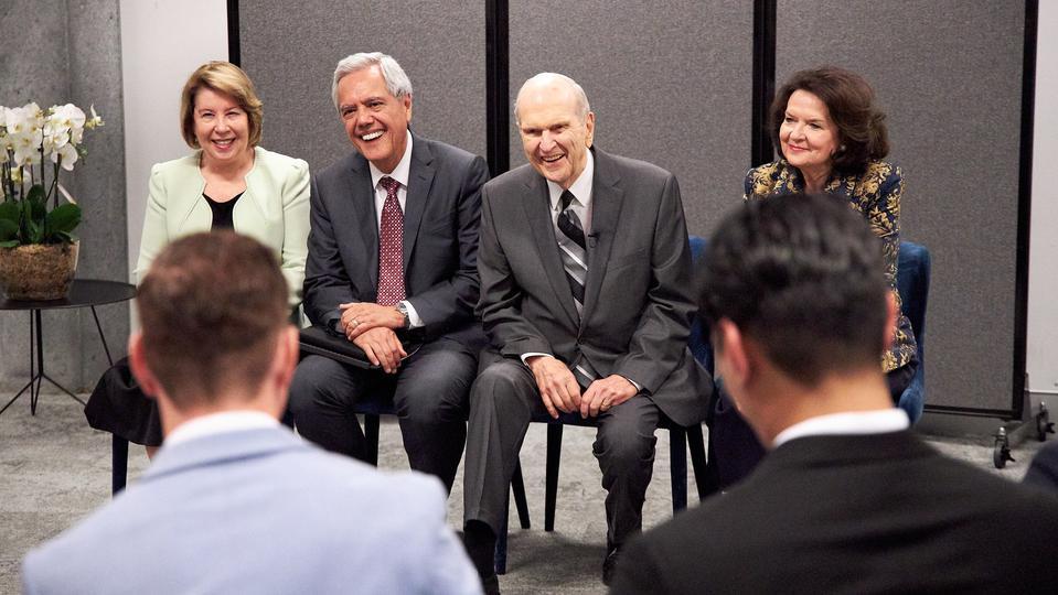 Presidente Nelson en Australia