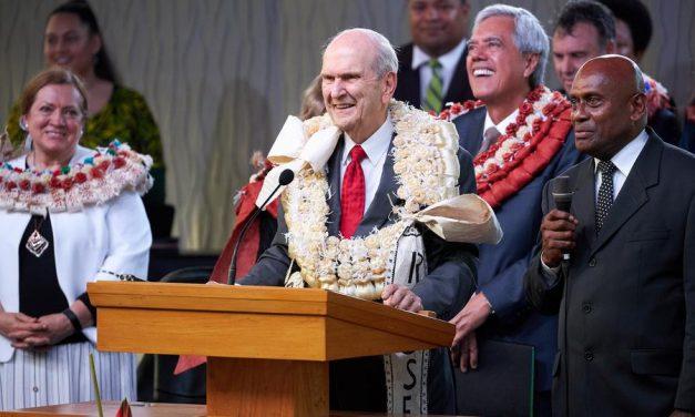 "Presidente Nelson en Fiji: ""Recuerden su potencial divino"""