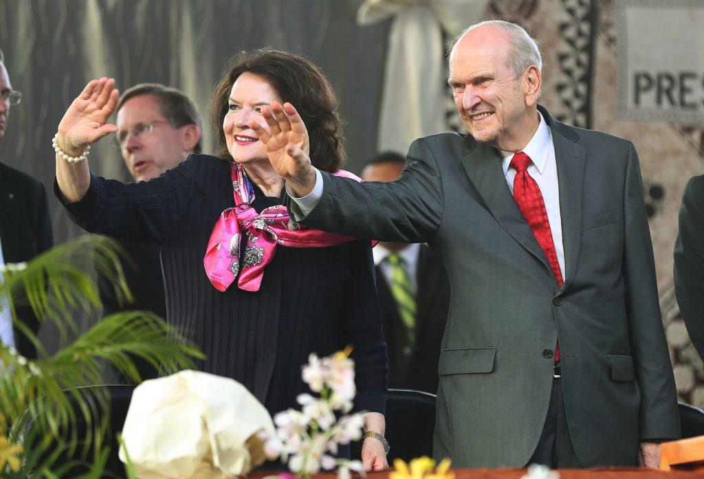 Presidente Nelson en Fiji