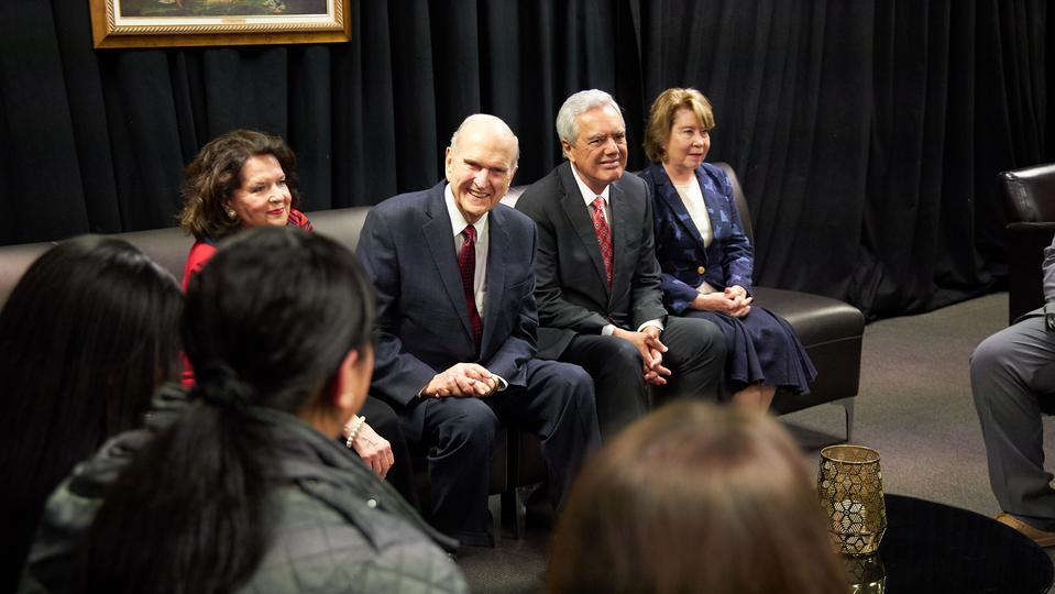 Presidente Nelson en Nueva Zelanda