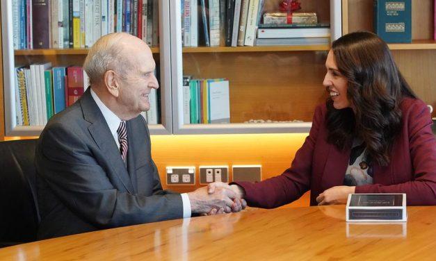 El presidente Nelson se reúne con la primera ministra de Nueva Zelanda
