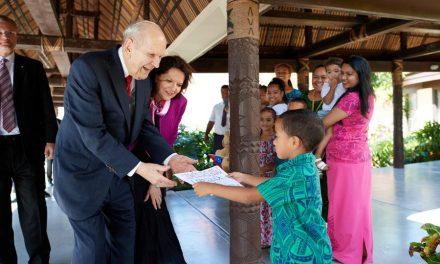 "Presidente Nelson en Samoa: ""Protejan a sus hijos"""