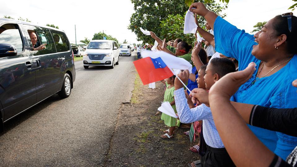 Presidente Nelson en Samoa