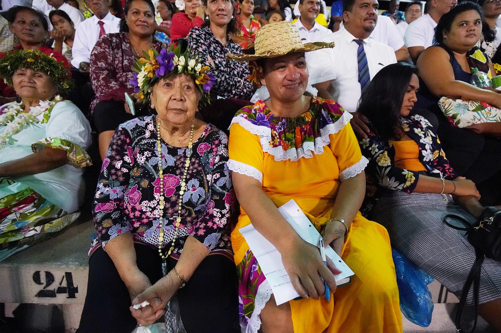 Presidente Nelson en Tahití