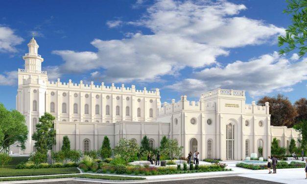 La Iglesia comparte los planes de renovación para el Templo de St. George, Utah