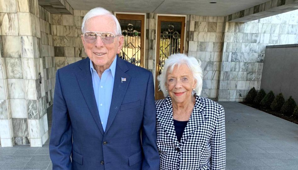La conmovedora historia de cómo una pareja que a sus 90 años se selló en el templo