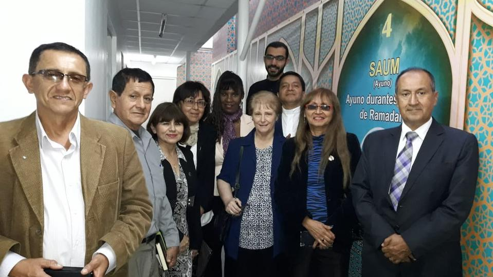 lideres religiosos en Mezquita