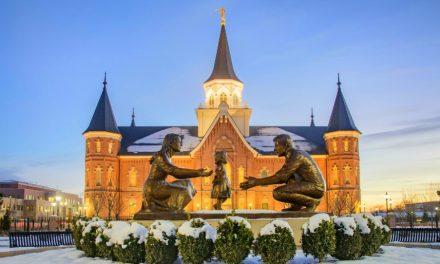 La hermosa historia detrás de la estatua del Templo de Provo City