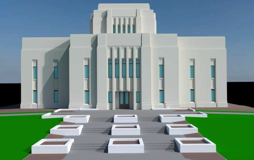 Templo de Los Olivos en Anteproyecto