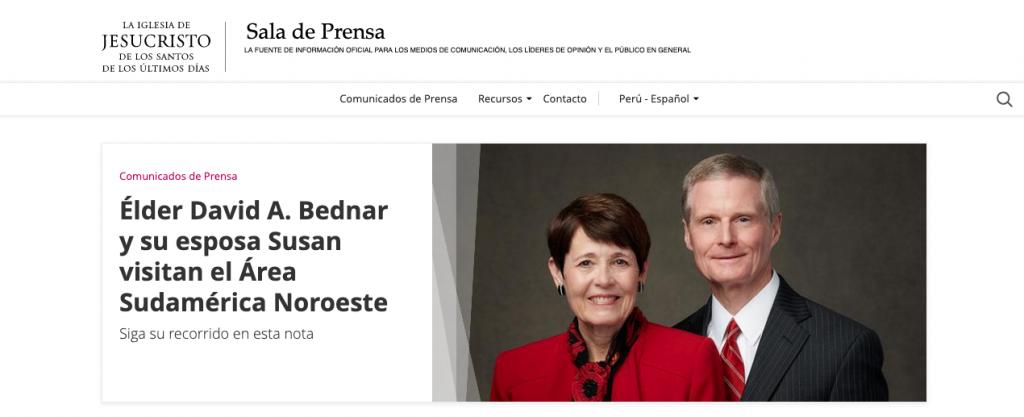 Noticias Mormonas Perú