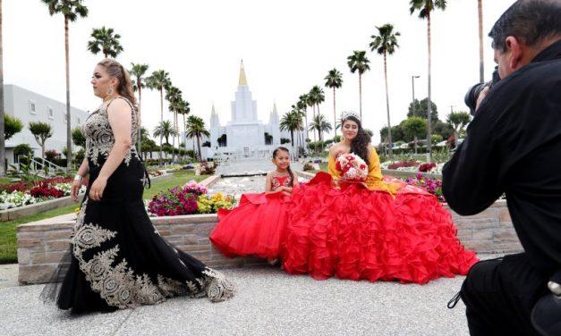 Porqué este Templo es un lugar popular para las fotos de las quinceañeras católicas