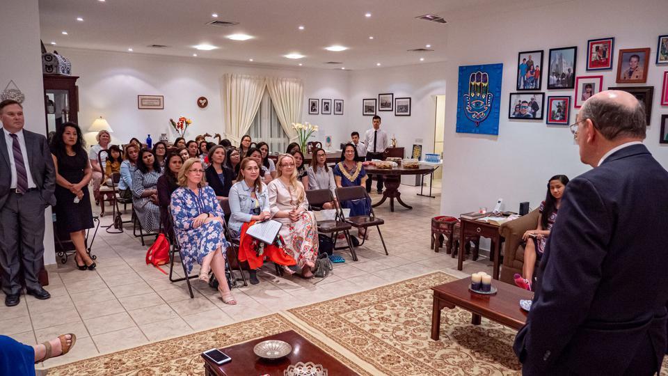 elder Cook en Kuwait