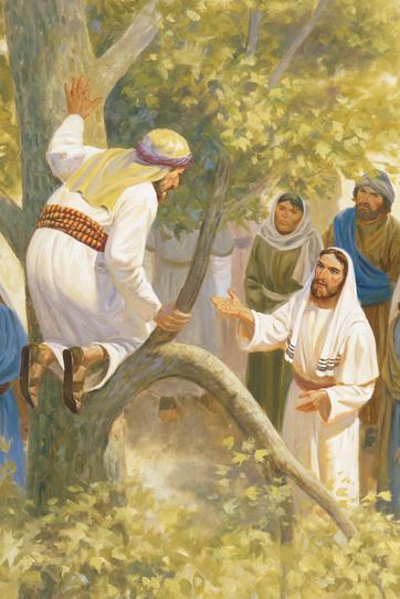 zaqueo y jesús