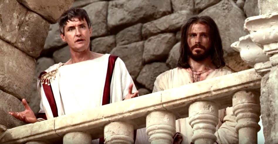 jesus y Pilatos