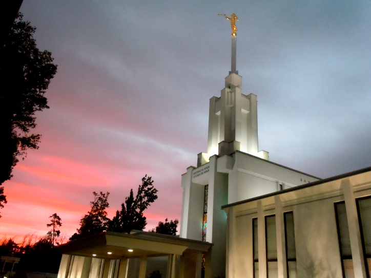 Templo de Santiago Chile